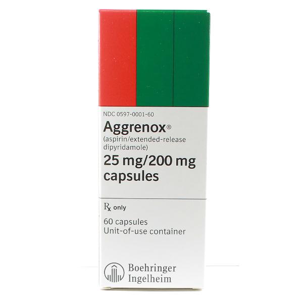Aggrenox 25 200 Mg