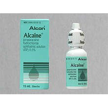Alcaine 0.5% Opthalmic Drops 15 Ml By Alcon Labs.