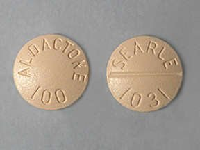 Aldactone 100 Mg Tabs 100 By Pfizer USA.