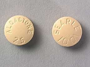 Aldactone 25 Mg Tabs 100 By Pfizer USA.