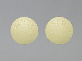 Alinia 500 Mg Tabs 12 By Romark Pharma.