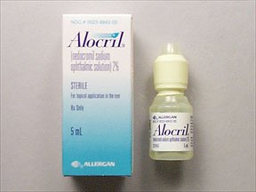 Alocril 2% Opthalmic Drop 5 Ml By Allergan Inc.