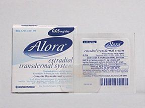 Alora .05mg/24 Hour Patch 8 By Actavis Pharma
