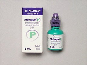 Alphagan P .15% Drops 5 Ml By Allergan Inc.