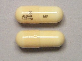 Altace 1.25 mg Capsules 100 By Pfizer Pharma.