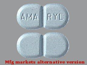 Amaryl 4 Mg Tabs 100 By Aventis Pharma.