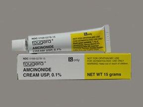 Amcinonide 0.1% Cream 15 Gm By Fougera & Company.