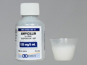 Ampicillin Trihydrate 125 Mg/5Ml Suspnsion 100 Ml By Qualitest Pharma
