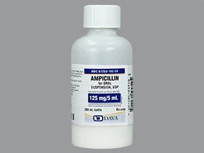 Ampicillin Trihydrate 125 Mg/5Ml Suspension 200 Ml By Qualitest Pharmace