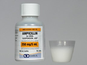Ampicillin Trihydrate 250 Mg/5Ml Suspension 100 Ml By Qualitest Pharma.