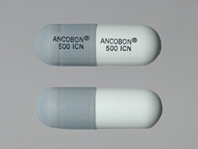 Ancobon 500 mg Caps 100 By Valeant Pharma.