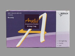 Angeliq 0.5-1 Mg Tabs 3X28 By Bayer Healthcare.