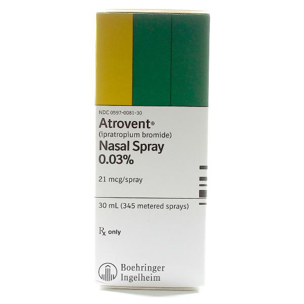 Atrovent 0.03% Nasal Spray Inhaler 30 Ml By Boehringer Ingelheim