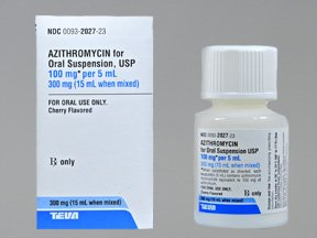 Copd exacerbation treatment azithromycin 500mg
