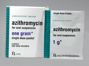 Azithromycin 1 Gm Packets 3 By Greenstone Ltd.