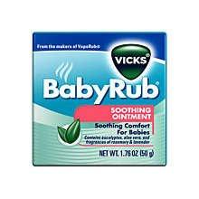 Vicks Babyrub Soothing Vapor Ointment 50 Gm