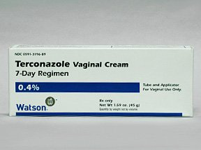 Terconazole 0.4% Vaginal Cream 40 Gm By Actavis Pharma
