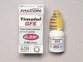 Timolol 0.25% Gel Sol 5 Ml By Falcon Pharma.