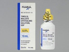 Timolol 0.5% Oph Drop 10 Ml By Actavis Pharma
