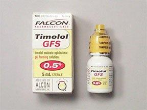 Timolol 0.5% Gel Solution 5 Ml By Falcon Pharma.