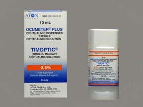Timoptic Ocum 0.5% Drops 10 Ml By Valeant Pharma