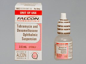 Tobramycin-Dexamethasone 0.3-0.1% Drop 2.5 Ml By Falcon Pharma