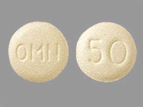 Topamax 50 Mg Tabs 60 By J O M Pharma.