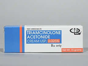 how long should i use triamcinolone cream for cellulitis
