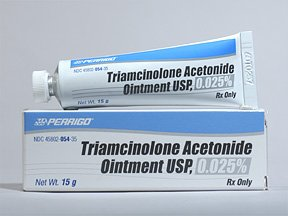 Triamcinolone Acetonide .025% Ointment 15 Gm By Perrig Co