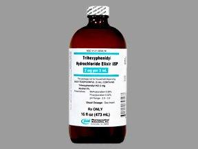 Trihexyphenidyl 2 Mg/5Ml Elixir 16 Oz By Pharmaceutical Assoc