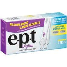 E.P.T Home Pregnancy 2 Test Kit Digital
