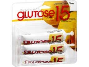 Glutose 15 Lemon Gel 3x37.5 Gm Pack By Perrigo Co
