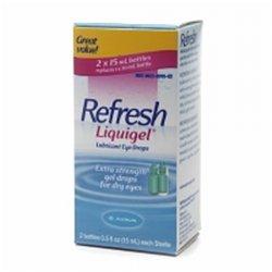 Refresh Liquigel Dry Eye Drop 2x15 Ml
