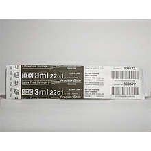 BD Luer Lok 1   22Gx3 Ml 100 Ct By Bd Inc.
