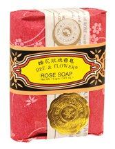 Bee & Flower Rose Bar Soap 12 x 2.65 Oz