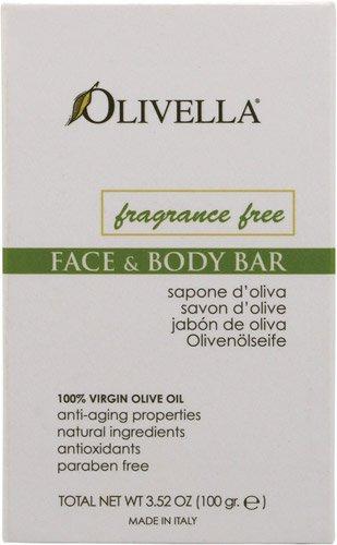 Bar Soap Fragrance Free 3.52 oz 1 By Olivella