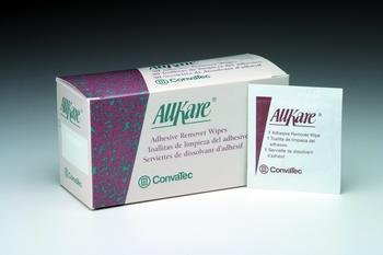 Allkare Adhesive Remover Wipes Box of 50