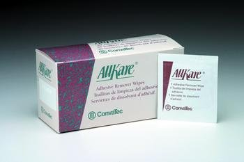 Allkare Adhesive Remover Wipes Box of 100