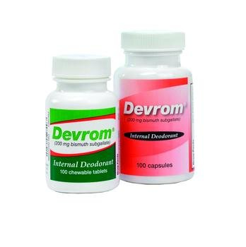 Devrom Deodorant Tabs Oral Each