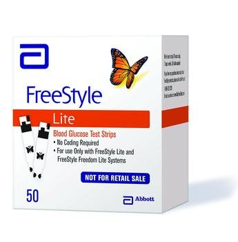 Freestyle Lite Strps Nfr 50Ct Box of 50