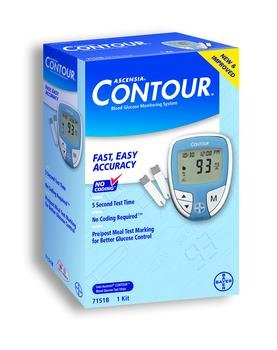Ascensia Contour Diabetic Meter Each