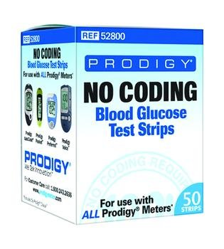 Prodigy Autocode Strips Dme Box of 50