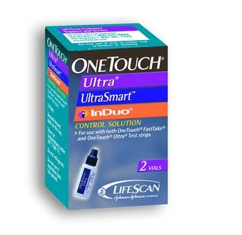 One Touch Ultra Control Solution Box of 2