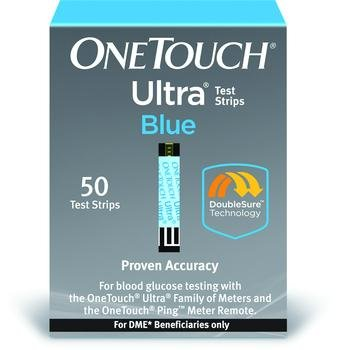 One Touch Ultra Strips Dme Box of 50