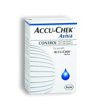 Accuchek Aviva 2 Lvl Control Sol Each