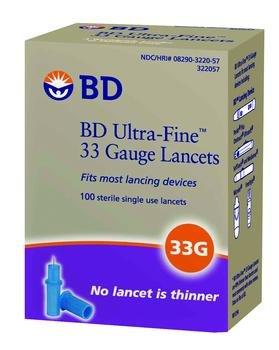 BD Lancet 33G Box of 100