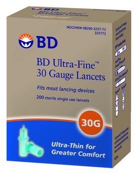 BD Ultra Fine Lancet 30G Case of 12