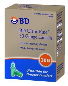BD Lancet Ultra Fine Single Use St Box of 100