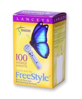 Freestyle Lancet St 25G Bx100 Box of 100
