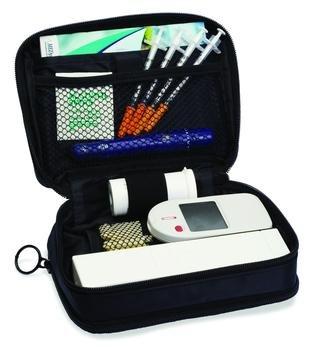 Dailey Organizer Insulin Case of W-Ice Black Each
